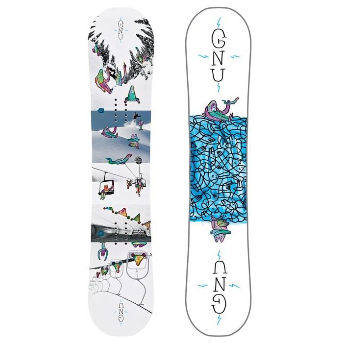 Gnu ASYM Recess BTX - tavola snowboard bambino | Mancini Store