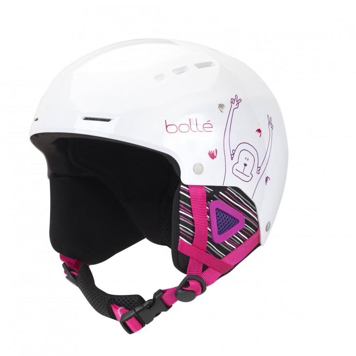 Bollé Quiz White Monkey - casco sci bambino | Mancini Store