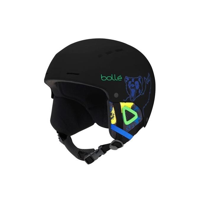 Bollé Quiz Black Bear - casco sci bambino | Mancini Store