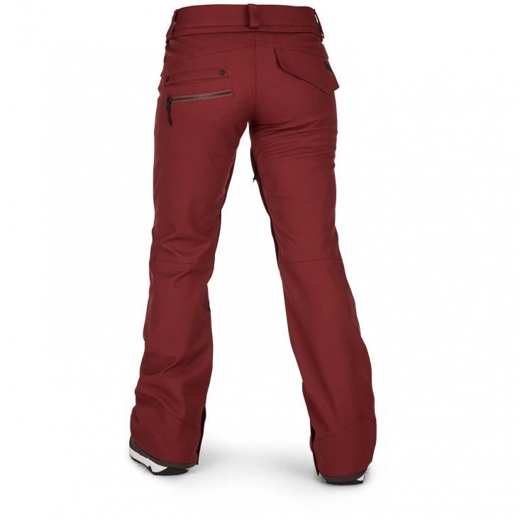 Volcom Species Strech Pant ruggine - pantaloni snowboard donna | Mancini Store