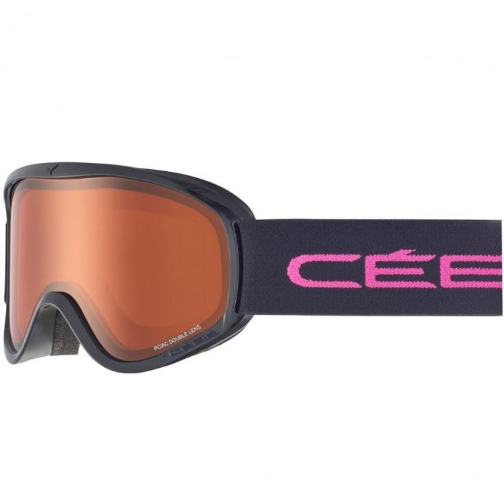 Cébé Razor M Black Pink Orange - Maschera sci | Mancini Store