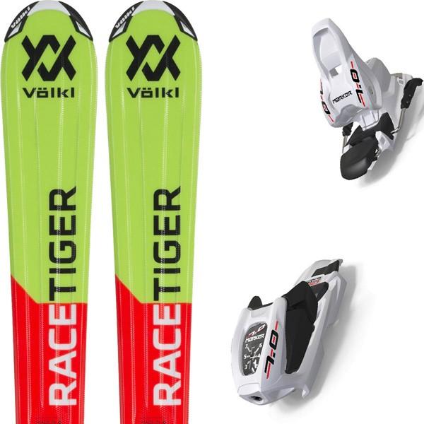 Volkl Racetiger Junior Red + VMotion JR - sci bambino | Mancini Store