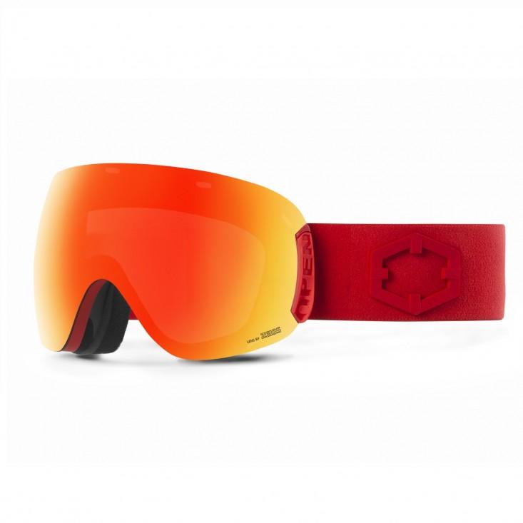 Out Of Open Red RED MCI + Pesimmon Bonus Lens - maschera snowboard | Mancini Store