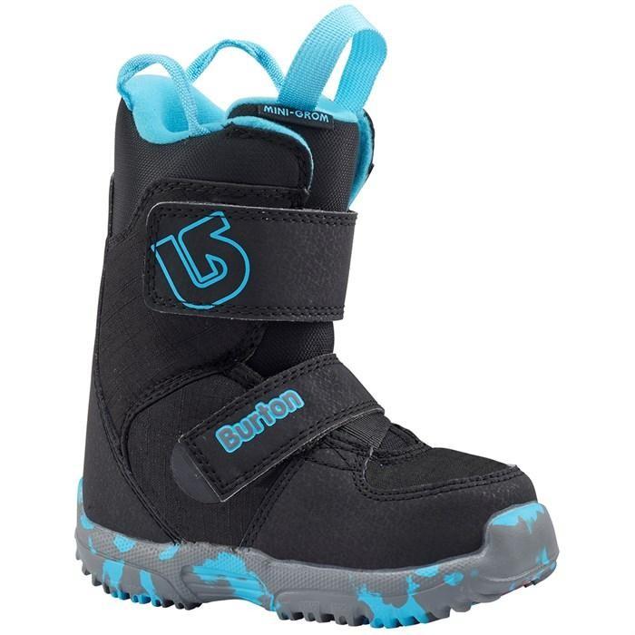 Burton Mini Grom Black - scarponi snowboard bambino | Mancini Store