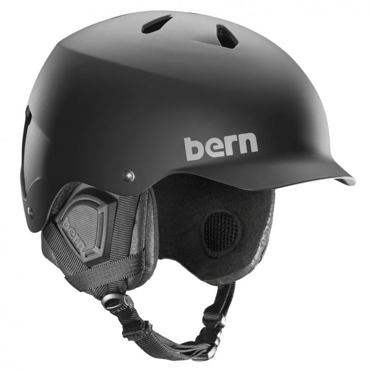 Baker EPS Matte Black- Black Liner Casco Snowboard Uomo