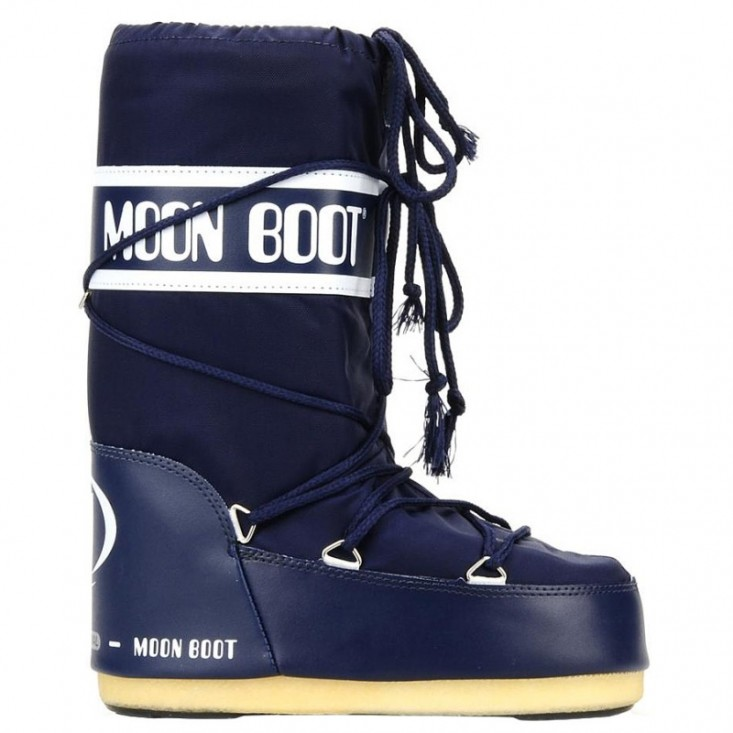 Moon Boot Nylon Unisex Blue