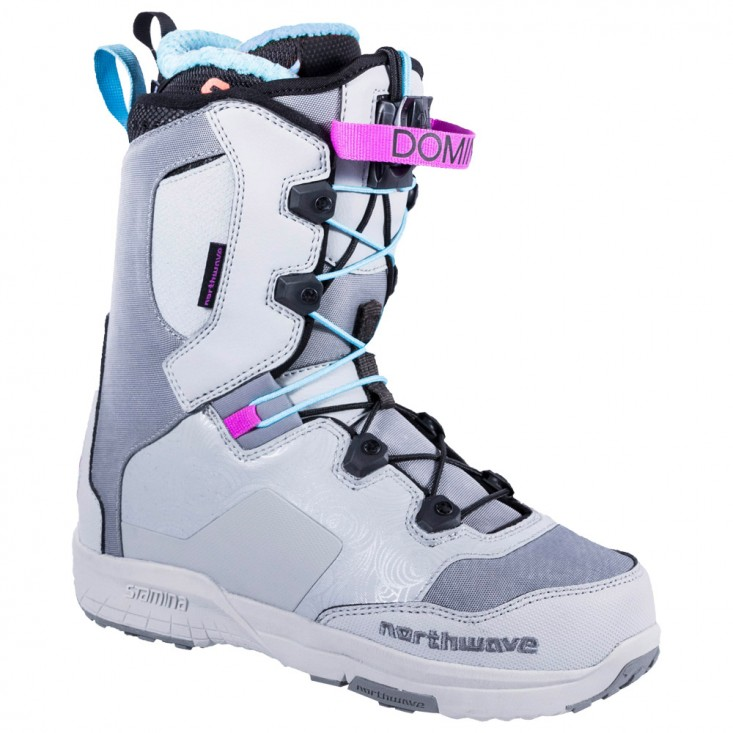 Northwave Domino SL Grey -  scarponi snowboard donna | Mancini Store