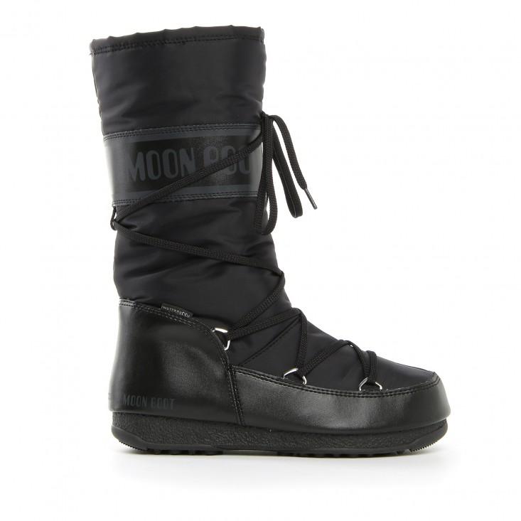 Moon Boot Soft Shade WP - doposci donna neri | Mancini Store
