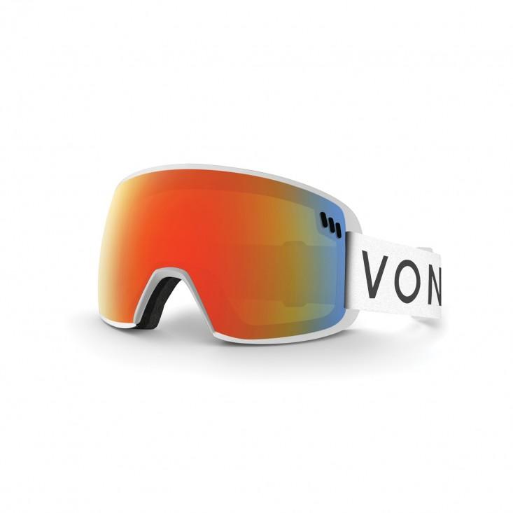VonZipper ALT XM Maschera Snowboard bianca  Mancini Store