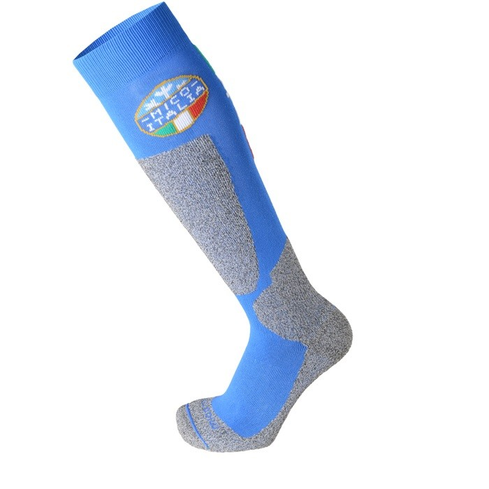 Mico Official ITA Kids - calze da sci bambino blue   Mancini Store
