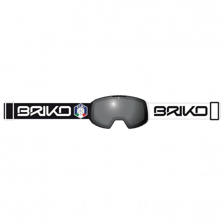 Briko Nyira 7.6 FISI Black White - maschera sci | Mancini Store