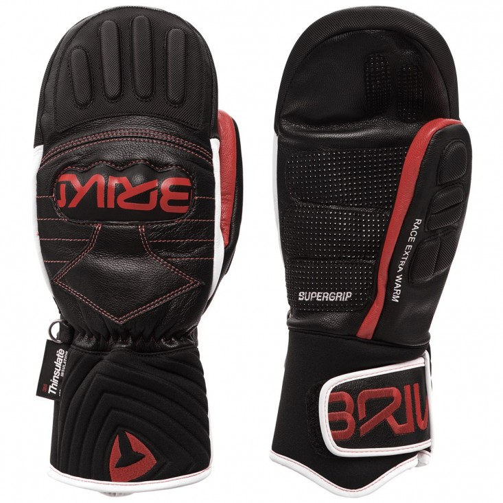 Gara Mitt EW Extra Warm Guanto Sci Adulto Black Red White