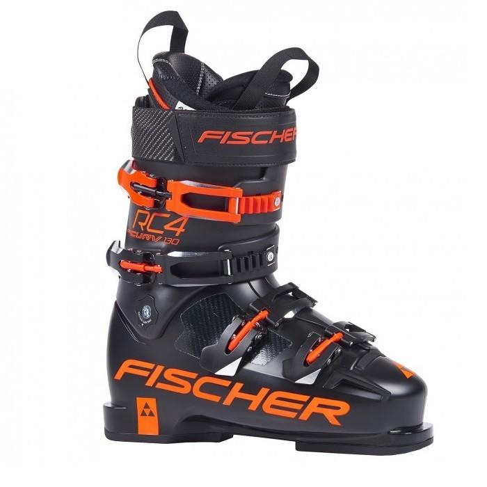 Fischer RC4 Curv 130 PBV - scarponi da sci uomo neri | Mancini Store