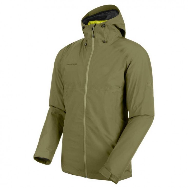 Mammut Convey 3 in 1 Hs Hooded Jkt Man Clover Canary | Mancini Store