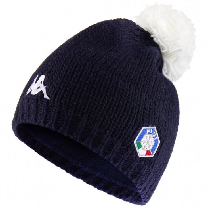 Kappa 6 Cento Flock FiSi blue - cappellino da sci   Mancini Store