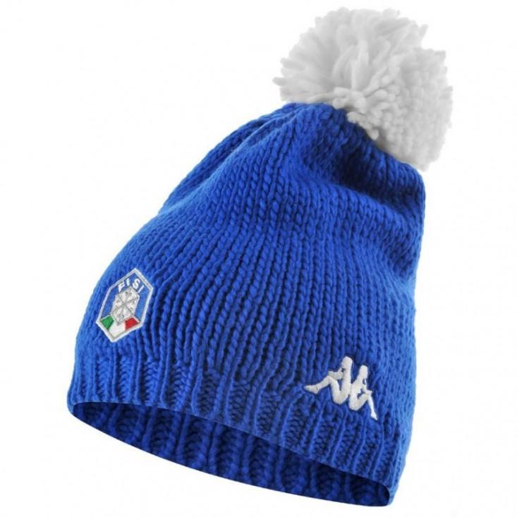 Kappa 6 Cento Flock FiSi azzurro - cappellino da sci | Mancini Store