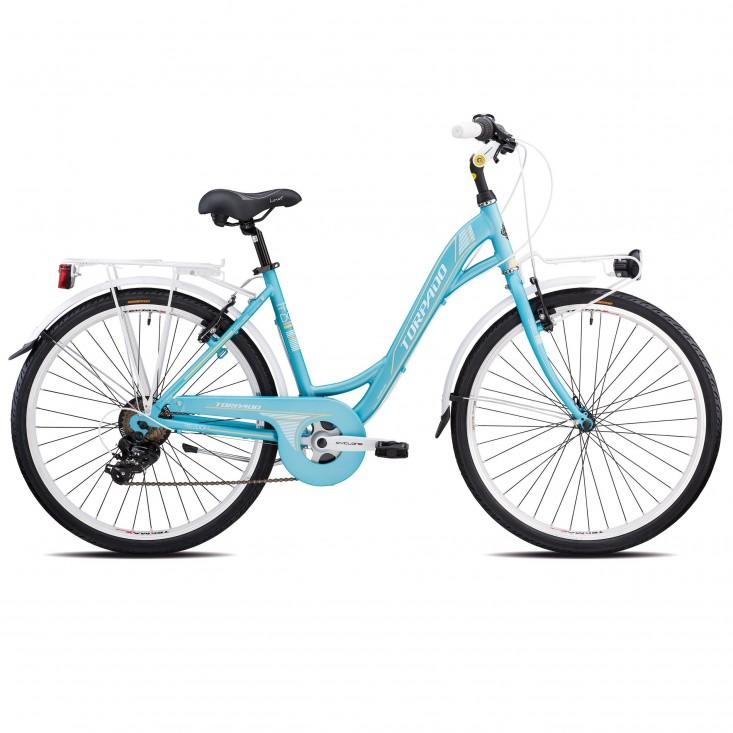 Torpado T461 Freedom verde - city bike 2019 | Mancini Store