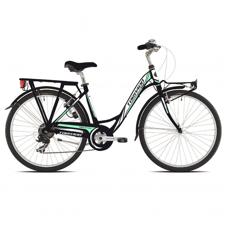 Torpado T441 Partner nera - city bike donna 2019 | Mancini Store
