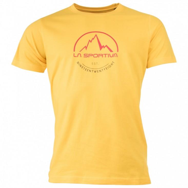 La Sportiva Logo Tee T-Shirt - maglia manica corta gialla   Mancini Store