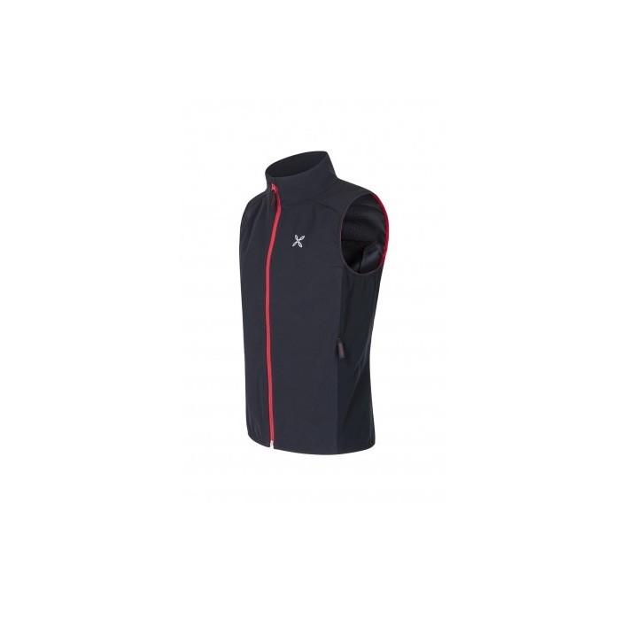 Run Flash Vest Gilet Montagna Black Red 2019