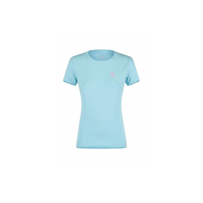Sporty T-Shirt Montagna Donna Ice Blue 2019