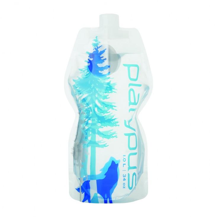 Platypus SoftBottle 1L PP Wild Blue Borraccia