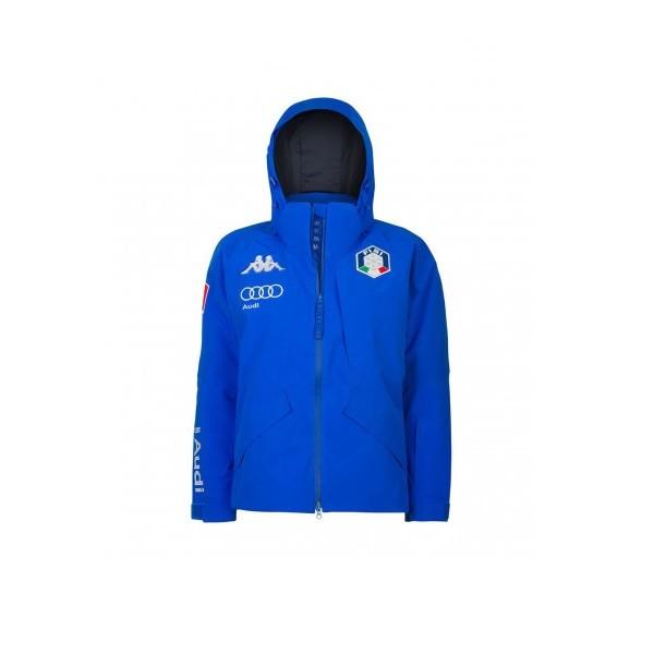 Kappa 6Cento 611 FISI - giacca sci uomo azzurra | Mancini Store