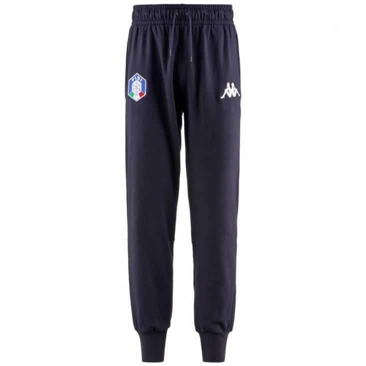 6 Cento Autaf FISI Pantalone Tuta Blu Notte
