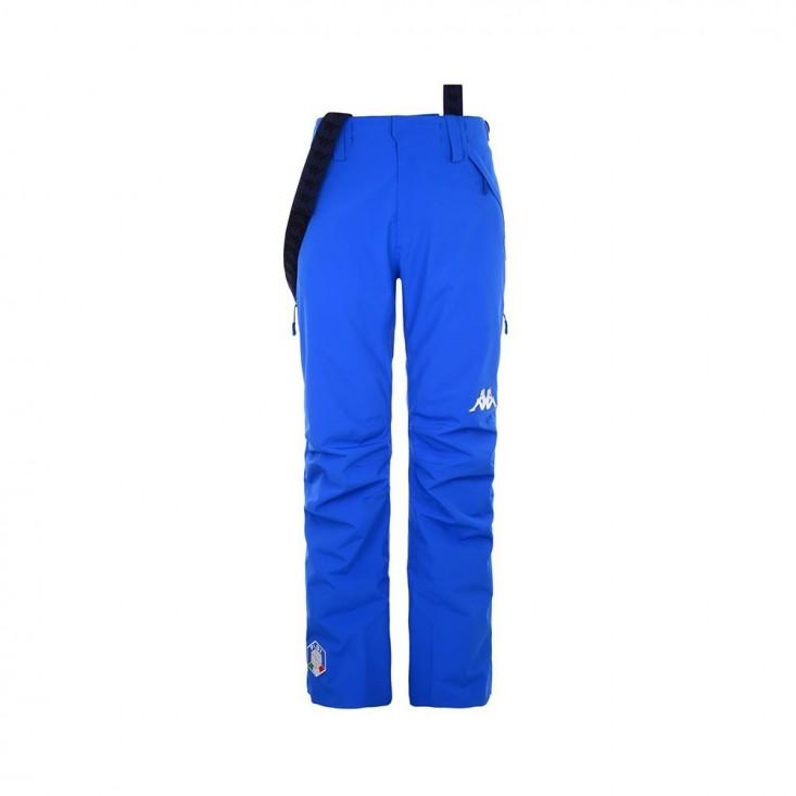 6 Cento 622 FISI Pantalone Sci Uomo Azzurro