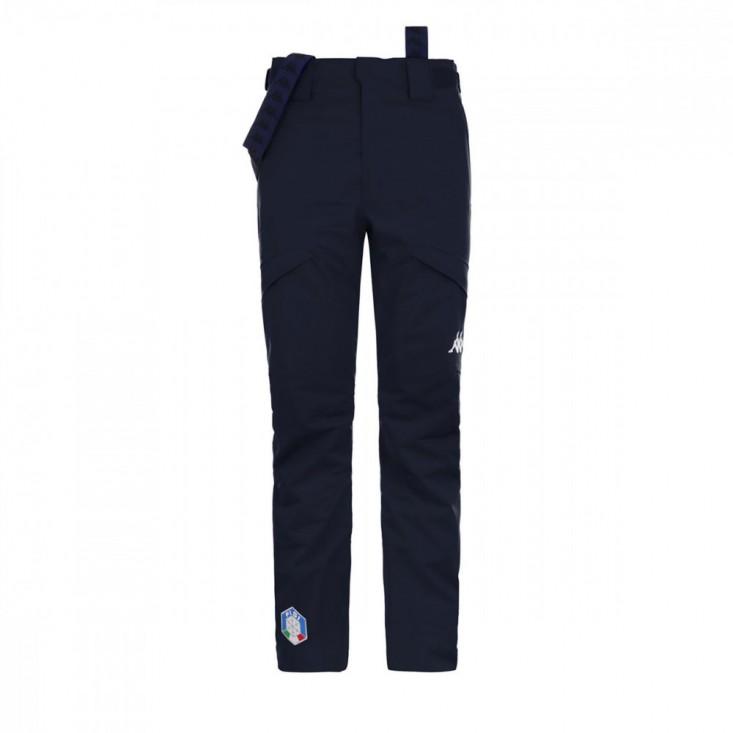 6 Cento 622 FISI Pantalone Sci Uomo Blu Notte