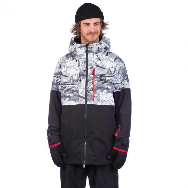 Stone JKt Giacca Snowboard Uomo Lofoten