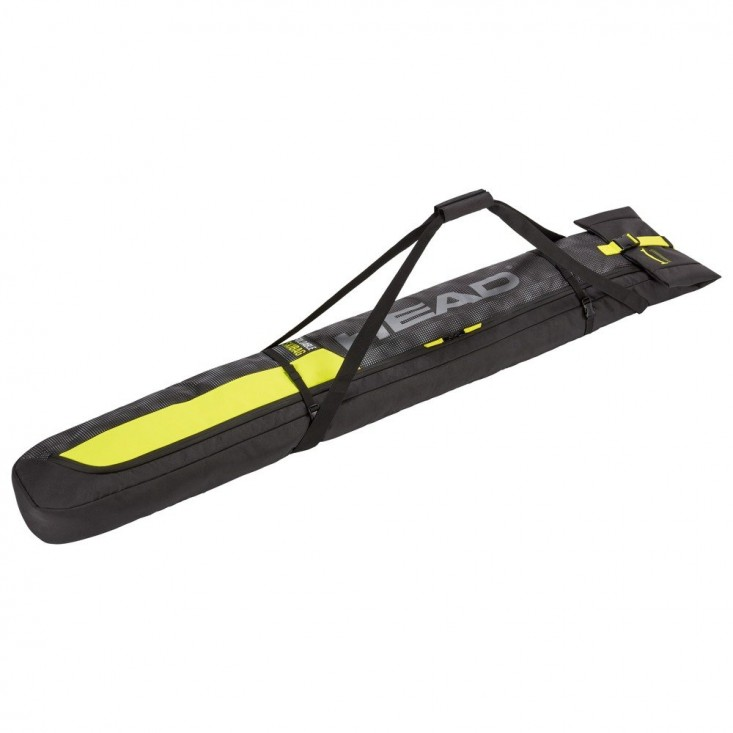 Single Skibag Short Sacca Portasci Unisex Yellow Black
