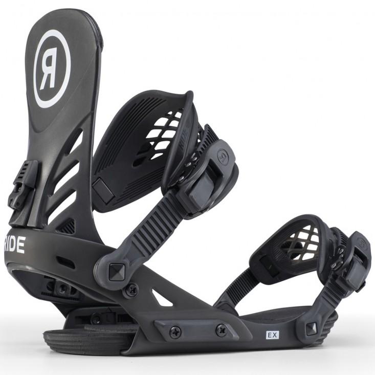 RIDE EX Black - Attacchi snowboard uomo | Mancini Store