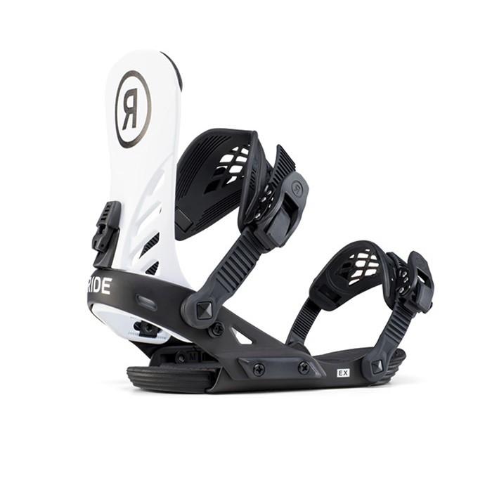 RIDE EX white black - attacchi snowboard uomo   Mancini Store