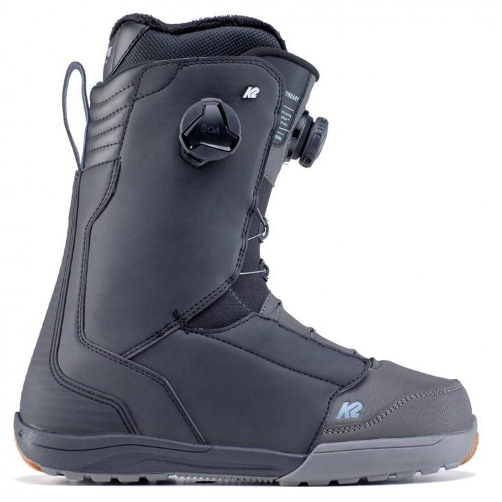 K2 Boundary Black - scarponi snowboard uomo | Mancini Store