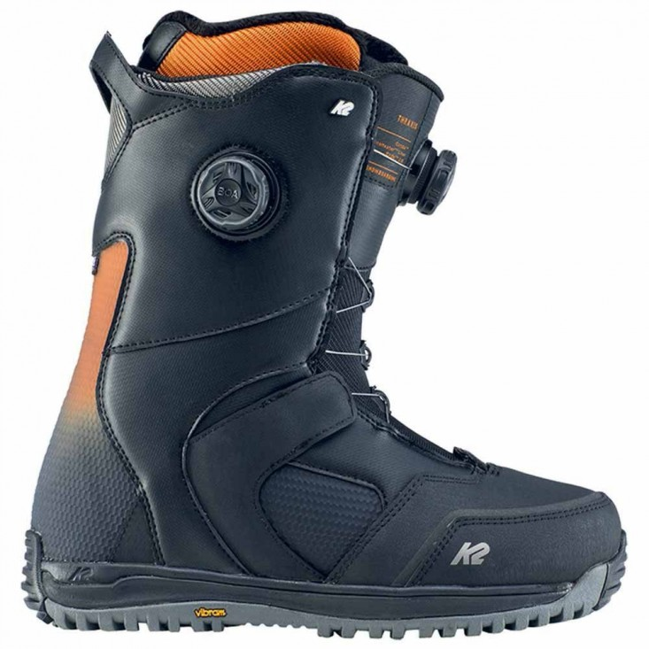K2 Thraxis nero - scarpone snowboard uomo | Mancini Store