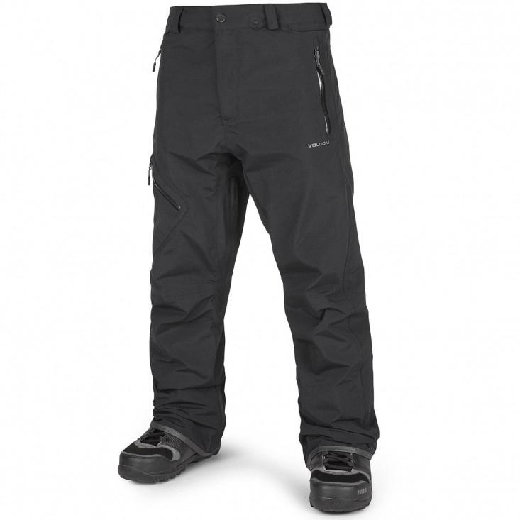 Volcom L Gore Tex Pant black - pantaloni snowboard uomo | Mancini Store