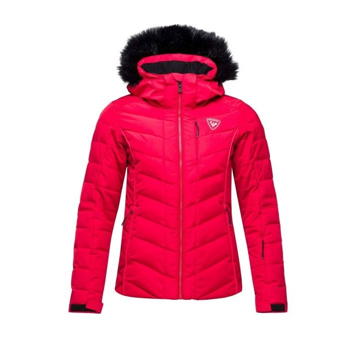 W Rapide Pearly Jacket Giacca Sci Donna Red