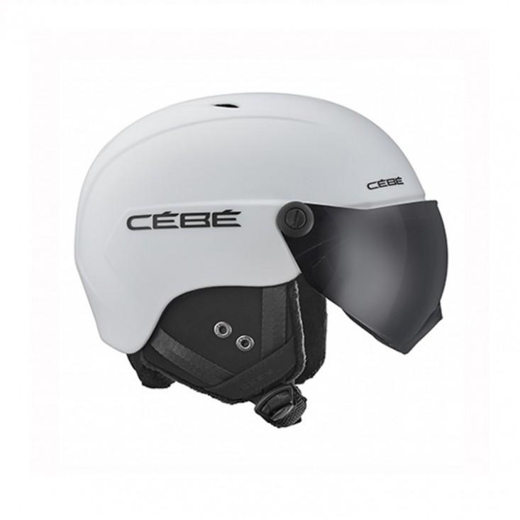 Cébé Contest Vision White - casco sci con visiera | Mancini Store