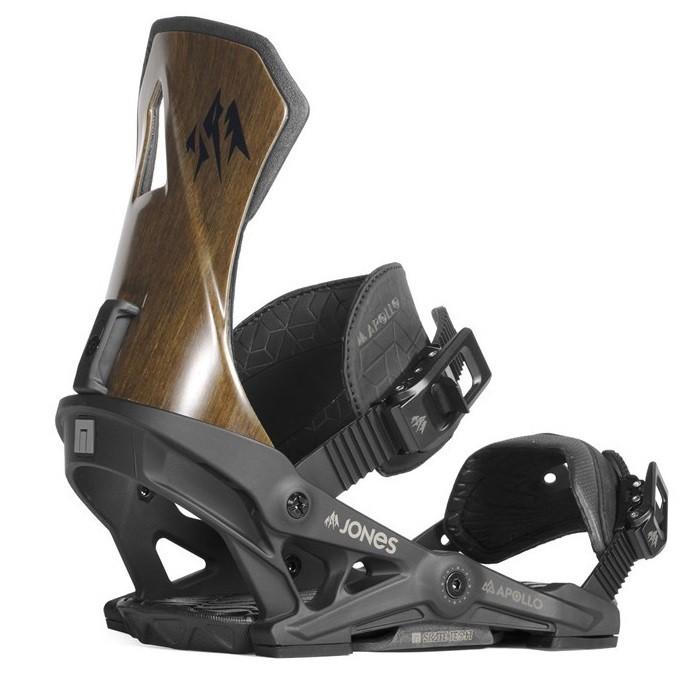 Apollo Attacco Snowboard Uomo Black