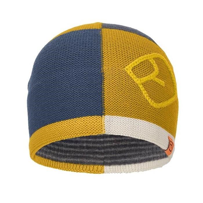 Ortovox Patchwork Beanie Yellowstone - Cappello da sci uomo   Mancini Store
