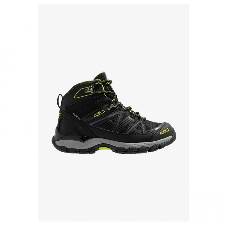 Kids Shedir Mid Hiking Scarpa Trekking Unisex Black Lime