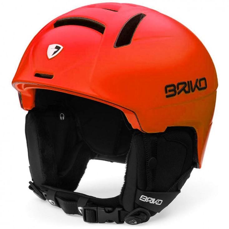 Briko Canyon Casco Sci Unisex Orange Black | Mancini Store