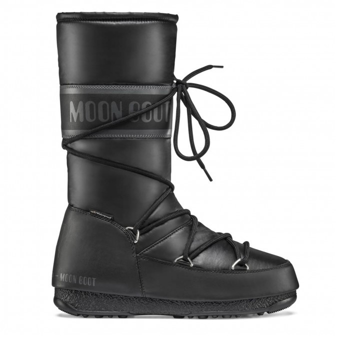 Moon Boot Hight Nylon WP Black