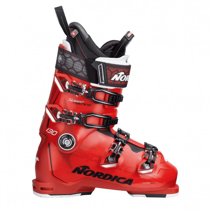 Nordica Speedmachine 130 Black Red Scarpone Sci Uomo