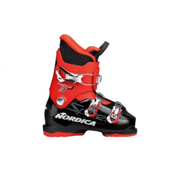 Nordica Speedmachine J 3 Black Red - scarponi sci bambino | Mancini Store