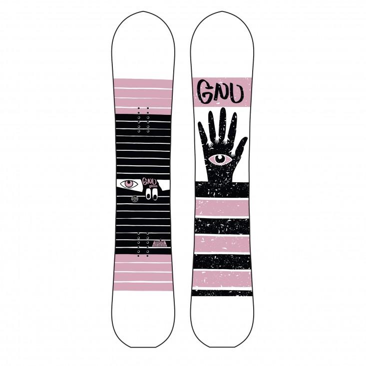 Gnu Gloss C2 - Tavola Snowboard Donna | Mancini Store
