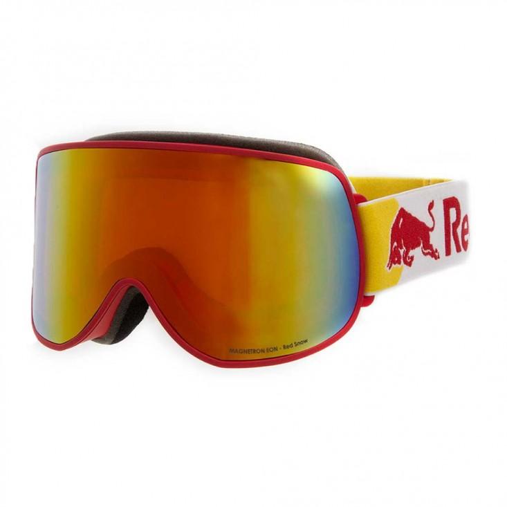 Red Bull Magnetron 005 Eon Maschera Snowboard Red