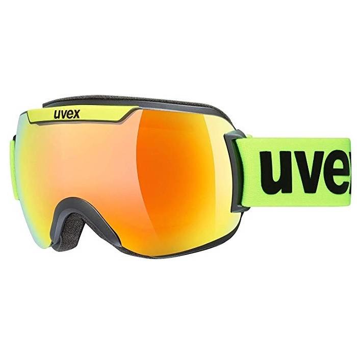 Uvex Downhill 2000 CV Yellow Fluo Mirror Orange - maschera sci   Mancini Store