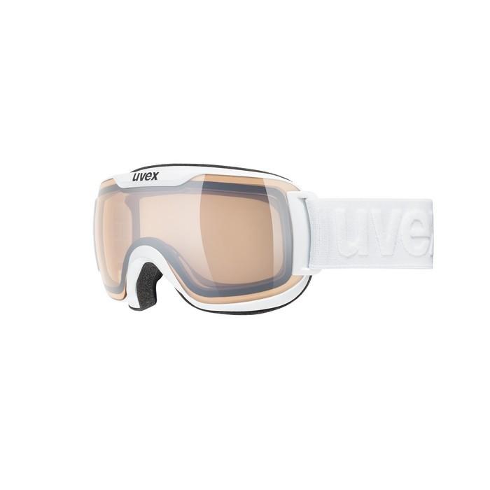 Uvex Downhill 2000 V White Vario SIlver Mirror - maschera sci | Mancini Store